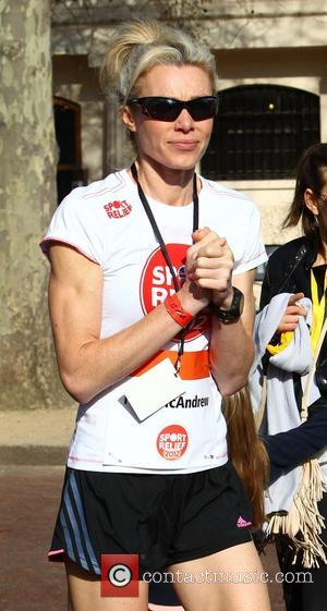 Nell McAndrew Sainsbury's Sport Relief Mile 2012 - London London, England - 25.03.12