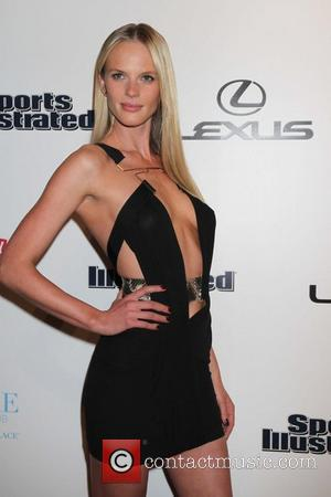 Anne V Sports Illustrated and the LVCVA host 'Club SI Swimsuit' held at Pure Nightclub - Caesars Palace Resort and...