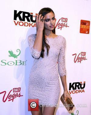 Irina Shayk and Caesars Palace