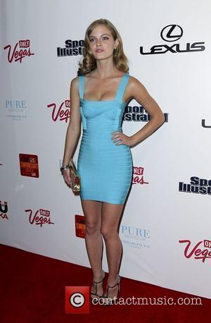 Jessica Perez Sports Illustrated and the LVCVA host 'Club SI Swimsuit' held at Pure Nightclub - Caesars Palace Resort and...