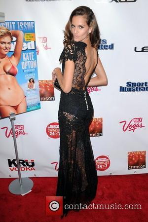Izabel Goulart  The Launch of The 2012 Sports Illustrated Swimsuit edition held at Crimson New York City, USA -...