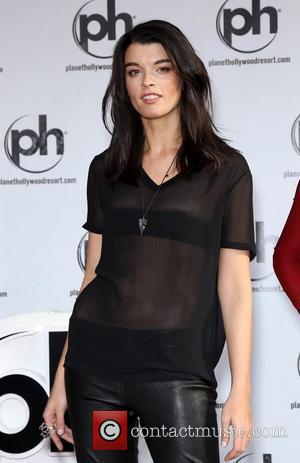 Crystal Renn the SI Swimsuit Models Handprint Ceremony at Planet Hollywood Las Vegas, Nevada - 15.02.12