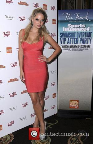 Genevieve Morton Sports Illustrated Overtime VIP After Party at The Bank Nightclub - Bellagio Resort and Casino - arrivals Las...