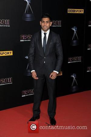 Amir Khan Sports Personality of the Year - Arrivals  Manchester, England - 22.12.11