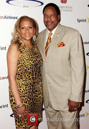 Dave Winfield and wife Tonya Turner  27th Anniversary of Sports Spectacular at the Hyatt Regency Century Plaza Century City,...