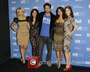 Ashley Benson, James Franco, Rachel Korine, Selena Gomez and Vanessa Hudgens