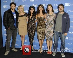 James Franco, Ashley Benson, Harmony Korine, Rachel Korine, Selena Gomez and Vanessa Hudgens