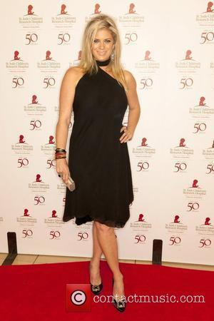 Rachel Hunter St. Jude Childrens Hospital's 50th Anniversary Benefit Gala at The Beverly Hilton Hotel - Arrivals Los Angeles, California...
