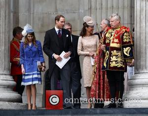 Princess Beatrice, Kate Middleton and Prince William