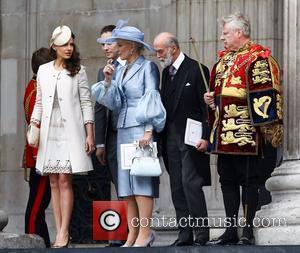 Princess Michael Of Kent, Kate Middleton and Prince William