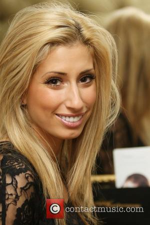 Stacey Solomon at Tatiana Hair Extensions salon in London London, England - 13.11.12