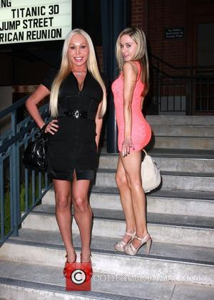 Paula Labaredas and Mary Carey With Great Power: The Stan Lee Story premiere Los Angeles, California - 19.04.12
