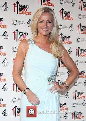 Michelle Mone Stand Up To Cancer fundraising gala, held at 3 Mills Studio - Arrivals London. England - 18.10.12