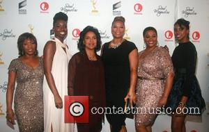 Alfre Woodard, Adepero Oduye, Phylicia Rashad, Dana Owens (Queen Latifah), Jill Scott, and Condola Rashad  attends the world premiere...