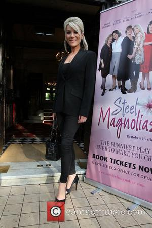 Zoe Lucker The National Tour of Steel Magnolias at Richmond Theatre - Arrivals London, England - 15.05.12