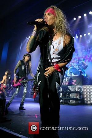 Steel Panther performing at Thebarton Theatre in Adelaide Adelaide, Australia - 09.10.12