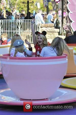 Disney star Stefanie Scott celebrating her birthday at Disney Land Anaheim, California - 03.12.11
