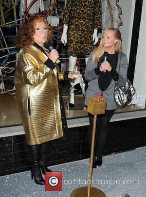 Jennifer Saunders and Emma Bunton