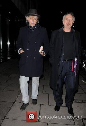 Bob Geldof and Sir Paul McCartney