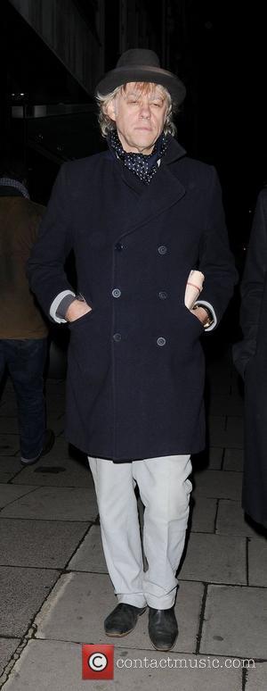 Sir Bob Geldof Stella McCartney store Christmas Lighting London, England - 29.11.11