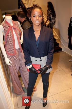 Ms Dynamite Stella McCartney store Christmas Lighting. London, England - 29.11.11  This is a PR photo. WENN does not...