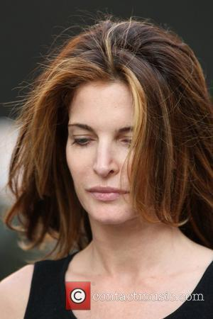 Supermodel Stephanie Seymour  out and about with no makeup New York City, USA - 01.05.12