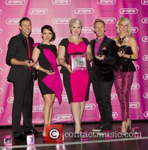 Lee Latchford-Evans, Lisa Scott-Lee, Claire Richards, Ian 'H' Watkins and Faye Tozer Steps launch their new fragrance, 'Guilty Pleasure' at...