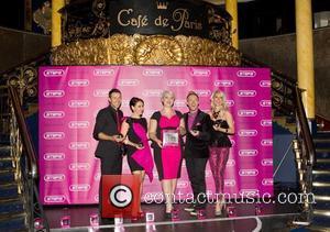 Lee Latchford-evans, Lisa Scott-lee, Claire Richards, Ian, H' Watkins, Faye Tozer and Cafe De Paris