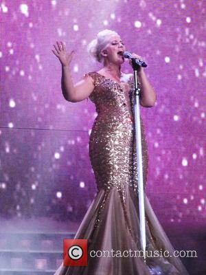 Claire Richards of Steps - The Ultimate Tour performing the opening night of their reunion tour at the Odyssey Arena...