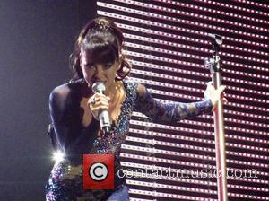 Lisa Scott-Lee of Steps - The Ultimate Tour performing the opening night of their reunion tour at the Odyssey Arena...