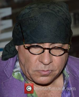 Soprano actor and E Street Band member Steven Van Zandt broadcasts his 'Little Steven's Underground Garage' radio show for Dublin...