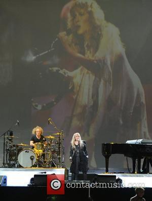 Stevie Nicks performing live in concert at the Bank Atlantic Center Sunrise, Florida - 04.08.12