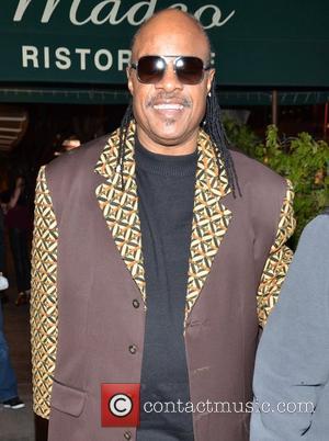 Stevie Wonder leaves Madeo restaurant in West Hollywood Los Angeles, California - 25.01.12