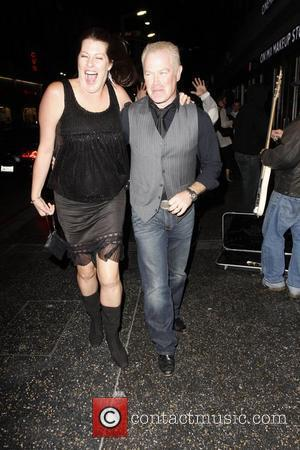 Neal McDonough and Ruve Robertson  leaving The Wiltern after watching Sting perform Los Angeles, California - 30.11.11