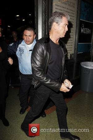 Pierce Brosnan leaving The Wiltern after watching Sting perform Los Angeles, California - 30.11.11
