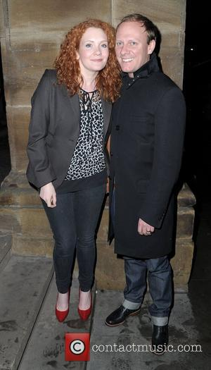 Antony Cotton and Jenny Mcalpine