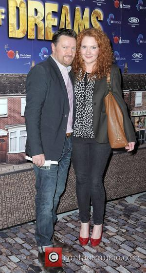 Jenny Mcalpine and Ian Pulston Davies,  World premiere of 'Street of Dreams Musical' held at the Manchester Arena -...