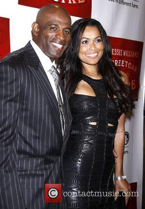 Deion Sanders and Tracey Edmonds