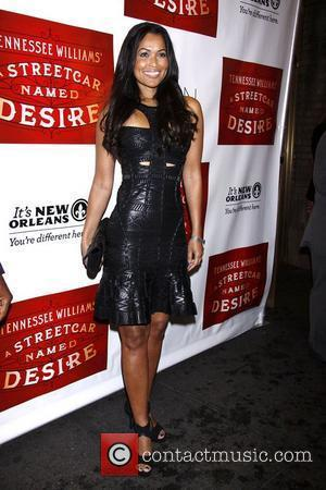 Tracey Edmonds   Broadway opening night of 'A Streetcar Named Desire' at the Broadhurst Theatre – Arrivals.  New...