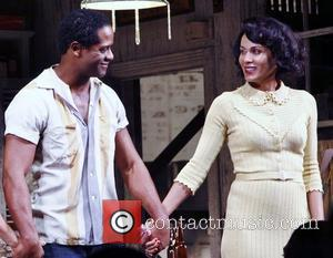 Blair Underwood and Nicole Ari Parker Broadway opening night of 'A Streetcar Named Desire' at the Broadhurst Theatre – Curtain...