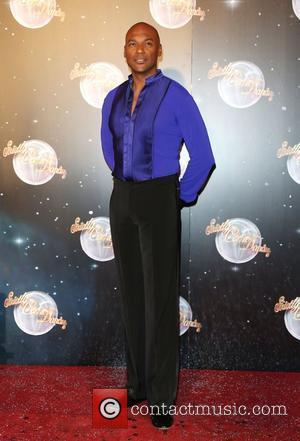 Colin Salmon Strictly Come Dancing 2012 launch - Arrivals London, England - 11.09.12