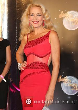 Jerry Hall Strictly Come Dancing 2012 launch - Arrivals London, England - 11.09.12