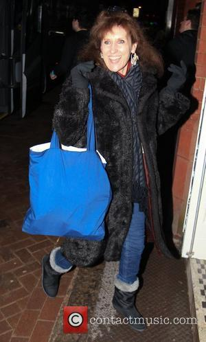 Anita Dobson arrives at 'Strictly Come Dancing' at Blackpool Tower London, England - 16.12.11