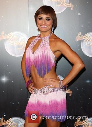 Flavia Cacace Strictly Come Dancing 2012 launch - Arrivals London, England - 10.09.12