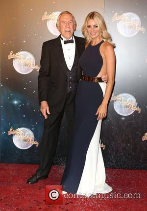 Sir Bruce Forsyth and Tess Daly Strictly Come Dancing 2012 launch - Arrivals London, England - 11.09.12