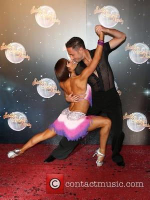 Flavia Cacace and Vincent Simone Strictly Come Dancing 2012 launch - Arrivals London, England - 11.09.12