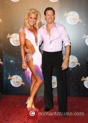 Natalie Lowe and Brendan Cole Strictly Come Dancing 2012 launch - Arrivals London, England - 11.09.12