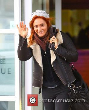 Aliona Vilani Strictly Come Dancing professional dancers leaving their hotel ahead of tonight's final Blackpool, England - 17.12.11