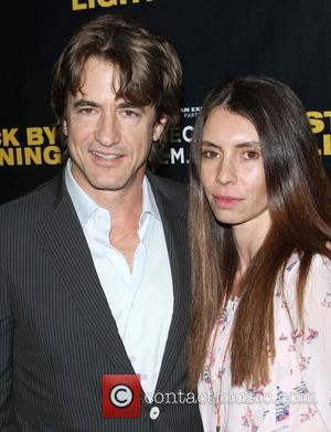 Dermot Mulroney and wife Tharita Cesaroni Tribeca Film presents the premiere of 'Struck By Lightning' at Mann Chinese 6 -...