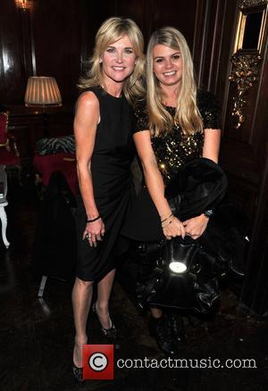 Anthea Turner and Lily
